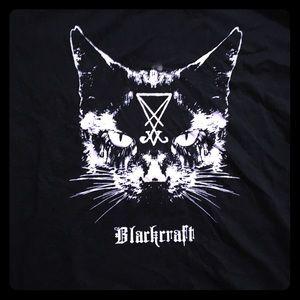 Black craft Cult Kitty Crop Top